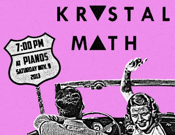 Krystal Math Flyer