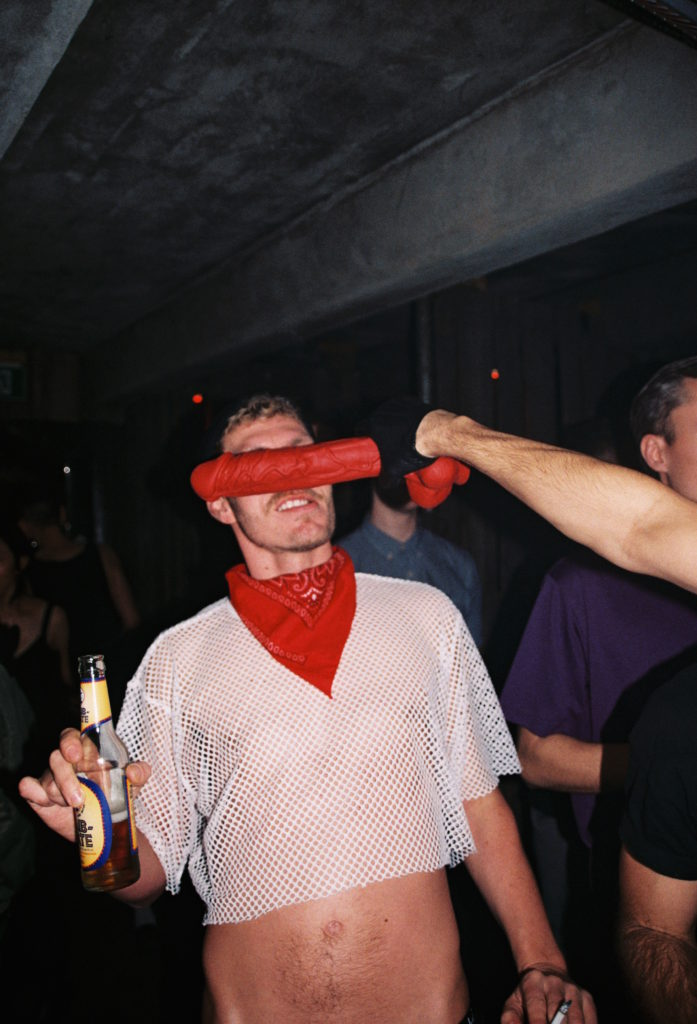 Red Dick In A Face